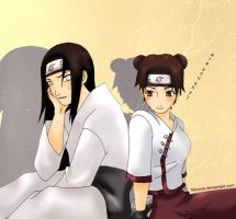 REQUEST: Neji and TenTen by Feiuccia