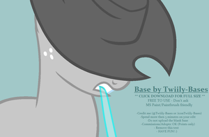 MLP Base 260 - Serious Cowpony by Twiily-Bases