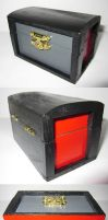Red-Black-Grey Box by FallenOther