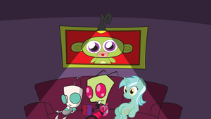 Zim/Lyra wallpaper by SIckly-venOM