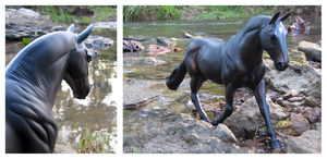 Breyer - Stallion's Crossing by The-Toy-Chest