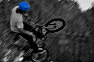 Bicyclist by TheUniphotoghrpher
