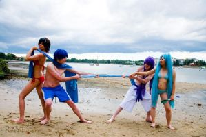 Vocaloid: Tug of War by silverharmony