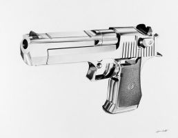 Desert Eagle 50 cal by cardman