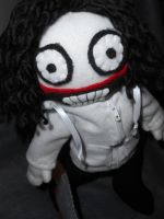 Jeff the Killer Plush with Zip Up by KaleidoscopicFungi