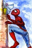 spiderman for Friday by Ejik-tyan