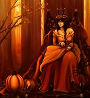 Queen of Autumn by RebeccaWeaver