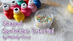 Shaped Sprinkles Tutorial by KeoDear