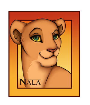 Nala Portrait by ShungiLion