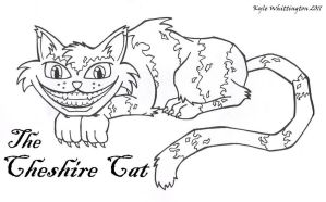 The Cheshire Cat by SketchMcDraw