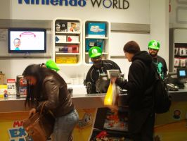 Luigi's Mansion Dark Moon at Nintendo World 37 by MarioSimpson1