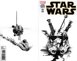 Starwars Cover issue 001 by Karbonk