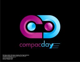 Free logo Vector COMPAC DAY by corelmania