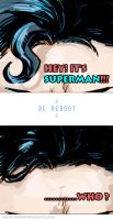 Superman who by Haining-art