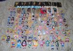 Sailor Moon all keychains by RakikoHime