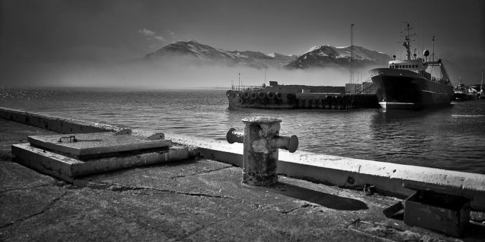 iceland bw by GerbenT