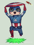 AVENGERS: captain america by eevf