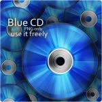 Blue CD Icon by MediaDesign