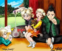 Ninja family by Melitot
