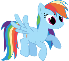 Rainbow Dash Vector by StarflashPony