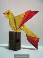 Origami Fall Challenge 9 by DarkUmah