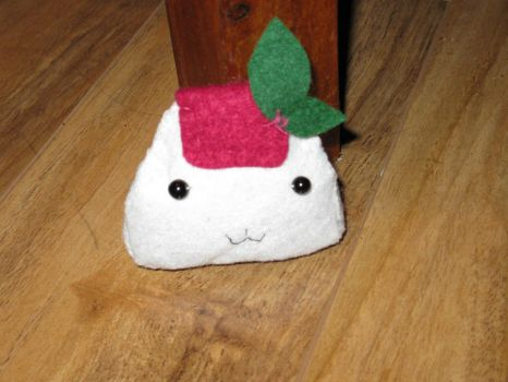 cute onigiri plushie by seizureberry