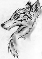 White Wolf by Larva18