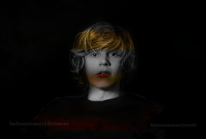 Evan Peters by LindaMarieAnson
