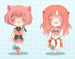 [OPEN:REDUCED] Leftover Pokegijinka Adopts by WanNyan