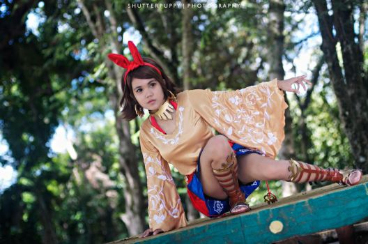 Josie Rizal - I Need To Focus !! by shutter-puppy