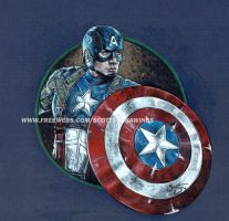 Captain America - The First Avenger (2014) by scotty309