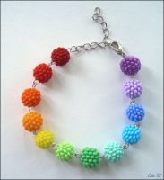 RainbowLollipops Bracelet by LinaIvelle