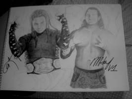 Autographed Matt and Jeff Hard by remizart