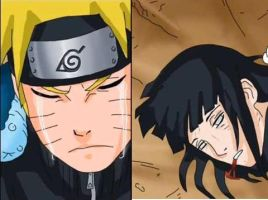 Naruto crying for Hinata by MilyzZz
