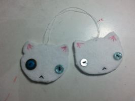 Siamese cat ornaments:Christmas gifts by Aljexi1922