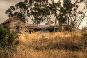 Bosses House at Miner's Hill, Moonta by Bluebuterfly72