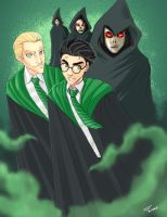 What if Potter in Slytherin? by duendefranco
