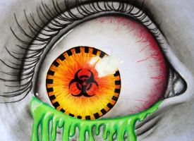 Biohazard Eye by mariana-a