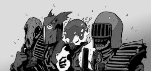 Dark Judges by DarkMechanic
