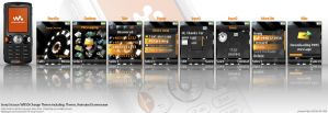 Orange Theme for Sony Ericsson by mrd2345