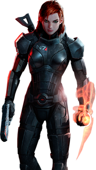 Female Shepard by IvanCEs