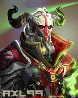 Inquisiturian Closeup by axl99