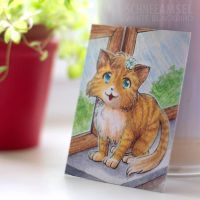 ACEO-Card #09 Cat by SchneeAmsel