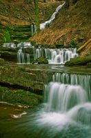 Scalebar Falls by Elmik5