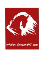 Red Horse Banner by vrkalak