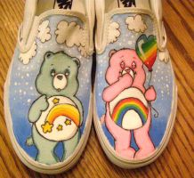 Care Bears by kissesAREcooties