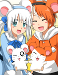 Hamtaro and Bijou :3 by Endless-Rainfall