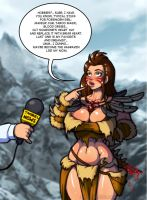 What Forsworn girl wants by LucidARTDVC