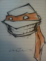 Turtle With A Smile by ShioriSohma