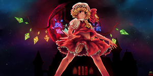 Flandre Scarlet by Chiyo-chi